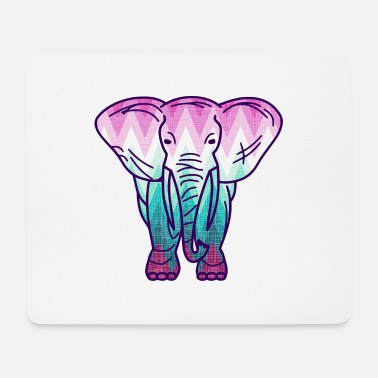 Ethno Elefant-paint your life1 - Mousepad