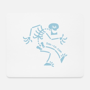 Naughty Skeleton - Mouse Pad