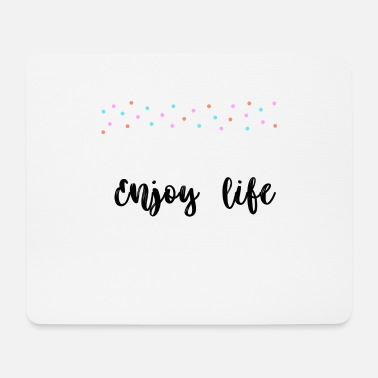 Wedding Cake Enjoy life - Mouse Pad