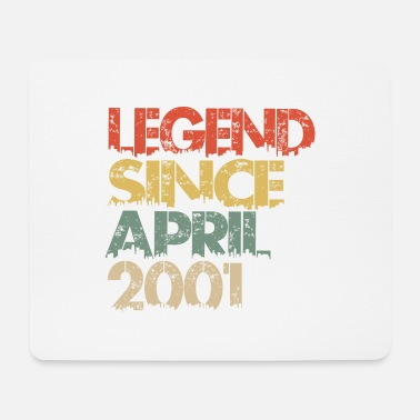 Treffer Legend Since April 2001 - Mousepad