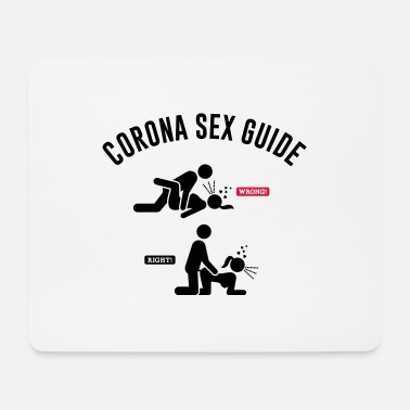 Sex FUNNY CORONA SEX RULE OF BEHAVIOR - Mouse Pad