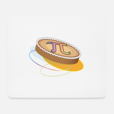 Pi Day pi day is pie day! Taart met pi-symbool - Muismat