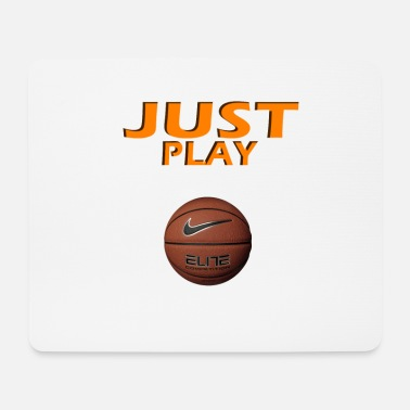 Just Play Basketball Design - Mousepad