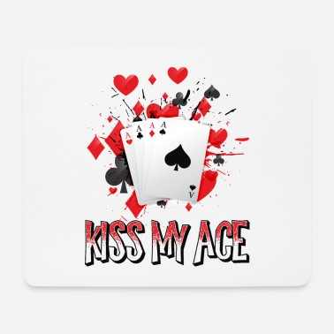 Bluffaus Poker-paita Kiss My Ace - Hiirimatto