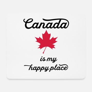 Vancouver canada happy - Mouse Pad