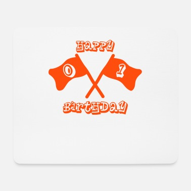 1st Birthday 1st birthday - happy birthday - Mouse Pad