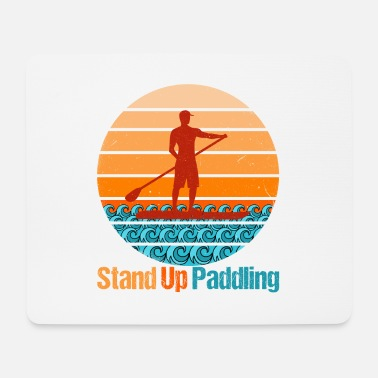 SUP Sport Stand Up Paddling Water Hobby - Mouse Pad