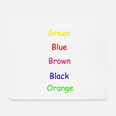 Colorful Colors Colorful - Mouse Pad