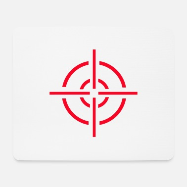 Crosshair crosshairs - Mouse Pad