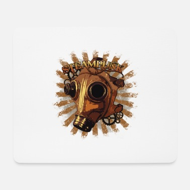 Steampunk mask - Mouse Pad