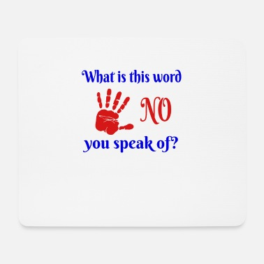 Word No Word - Mouse Pad