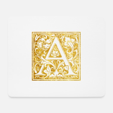 Initial Initials-A - Mouse Pad