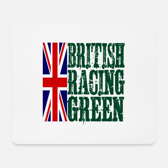 Army Mouse Pads - British Racing Green - Mouse Pad white