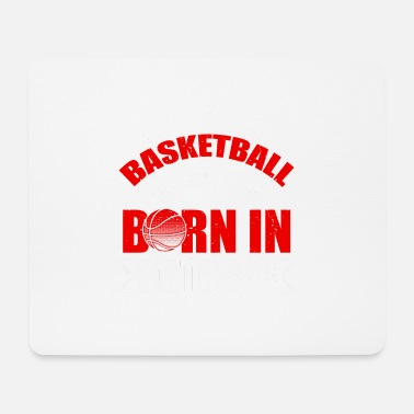 Basketball Legends Are Born In October Basketball Legends! Birthday Birthday! - Mouse Pad