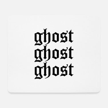 Ghost Ghost ghost ghost - Mouse Pad