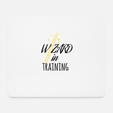 Training Wizard in Training - Tappetino per mouse (orizzontale)