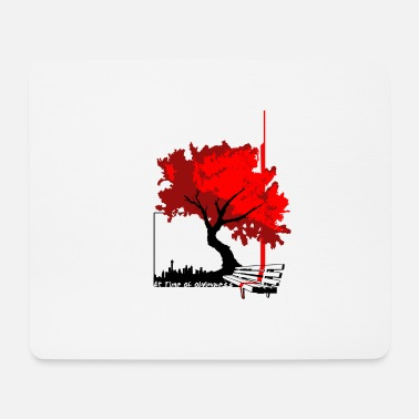 Bench bench - Mouse Pad