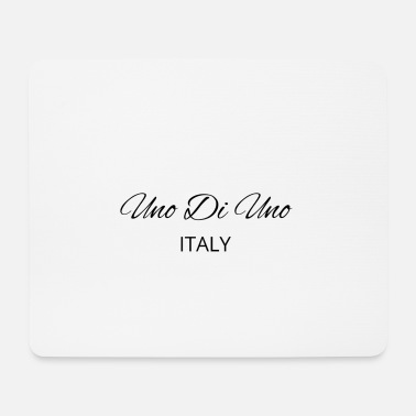 Uno Di Uno simple cotton t-shirt - Mouse Pad