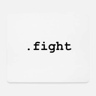 Fighter .fight - Mousepad (bredformat)