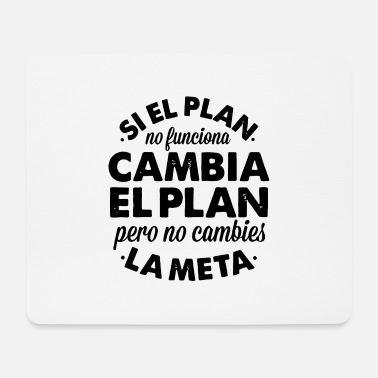 Planet plan - Mousepad (bredformat)
