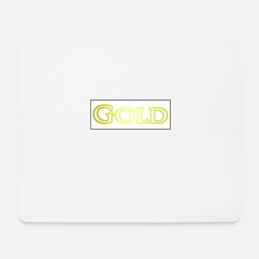 Gold gold - Mouse Pad