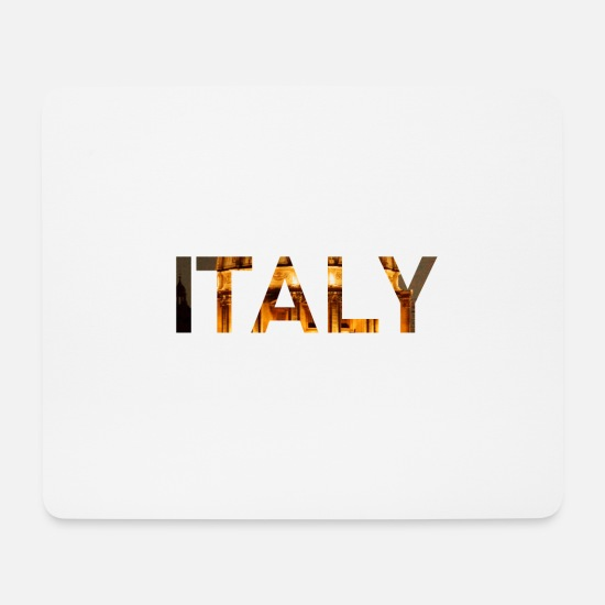 Gift Idea Mouse Pads - Italy - Mouse Pad white