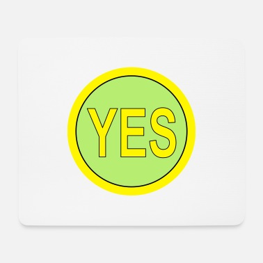 YES, JA smal - Mousepad