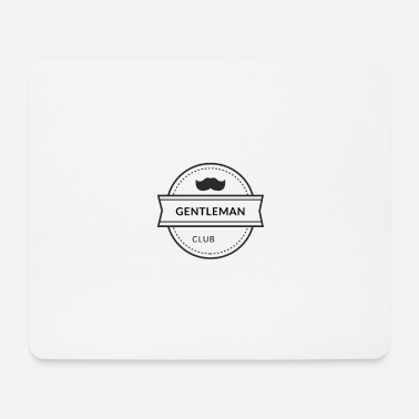 Clubbers Gentleman mustache club - Mouse Pad