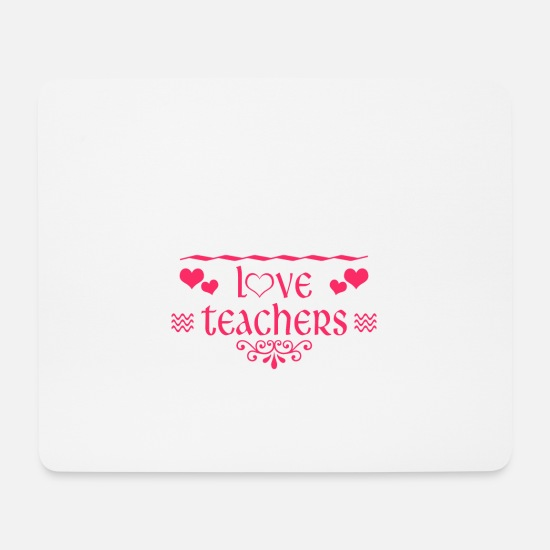 Gift Idea Mouse Pads - School class gift student teacher schoolgirl - Mouse Pad white
