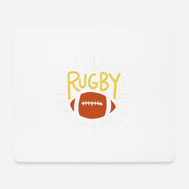 Rugby rugby - Tappetino per mouse (orizzontale)