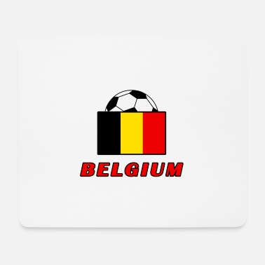 National Team BELGIUM national team design - Mouse Pad