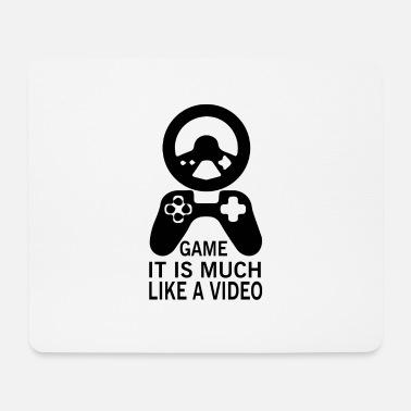Video Video Game - Mousepad