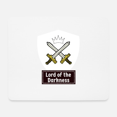 Orders Of Chivalry Knights of the dark! Medieval knightly orders - Mouse Pad