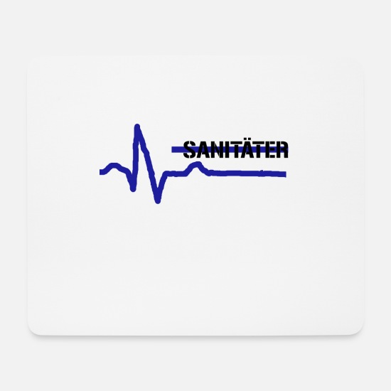 Paramedic Mouse Pads - paramedic - Mouse Pad white