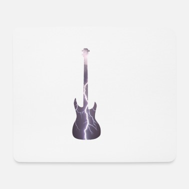 Electric Guitar Electric guitar lightning electricity - Mouse Pad