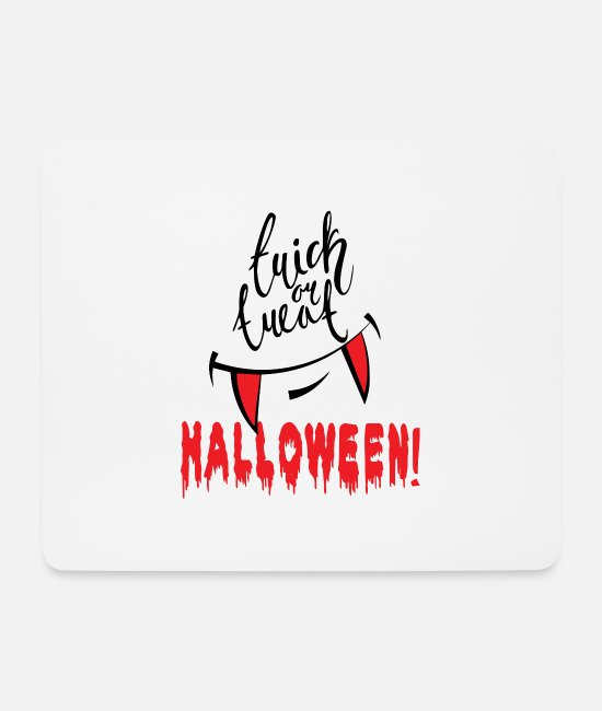 Party Mouse Pads - Sweet or sour Halloween - Mouse Pad white