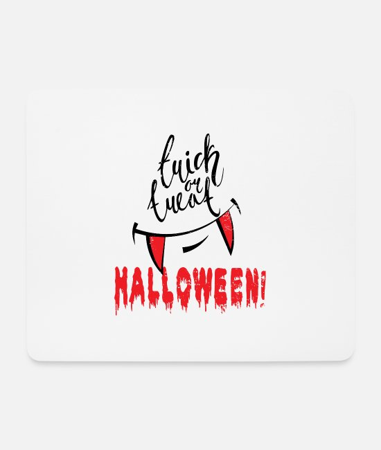 Horror Mouse Pads - Halloween - Mouse Pad white