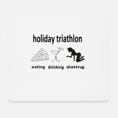 Ttiathlon holiday triathlon - Mousepad