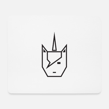 Vector Vector unicorn - Mouse Pad