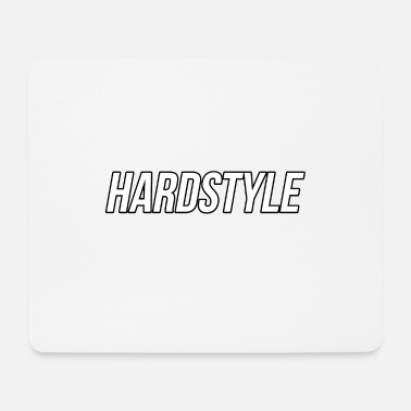 Hardstyle hardstyle - Tappetino per mouse (orizzontale)