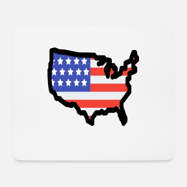 State United States - Mouse Pad