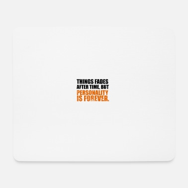 Person personality - Mouse Pad