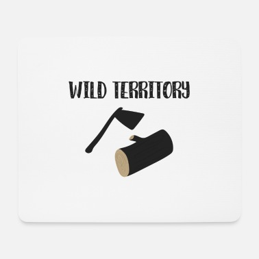 Wilderness wilderness - Mouse Pad