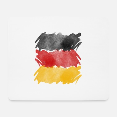 Germany flag, German flag. - Mouse Pad