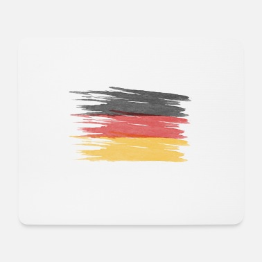 Germany flag, German flag - Mouse Pad