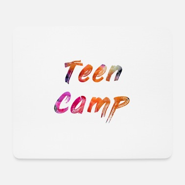 Teen Teen camp - Mouse Pad