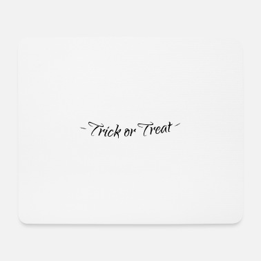 Trick Or Treat Halloween Trick or Treat Trick or Treat - Tapis de souris (format paysage)