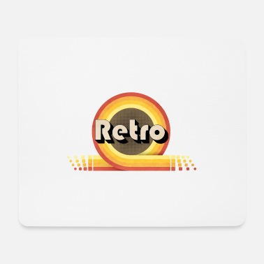 70s 70s retro - Mouse Pad