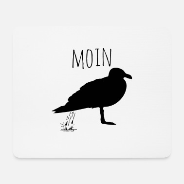Northern Germany Moin | Seagull | Northern Germany - Mouse Pad