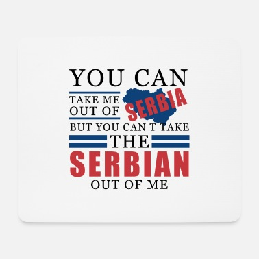Serbia serbia - Mouse Pad